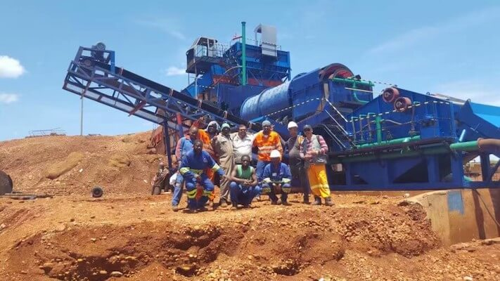 diamond mining process jxsc