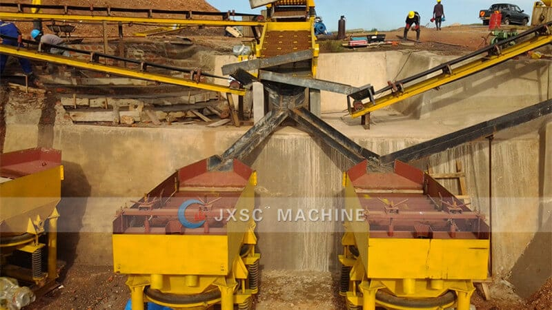 Uganda 100-TPH Coltan Mining plant