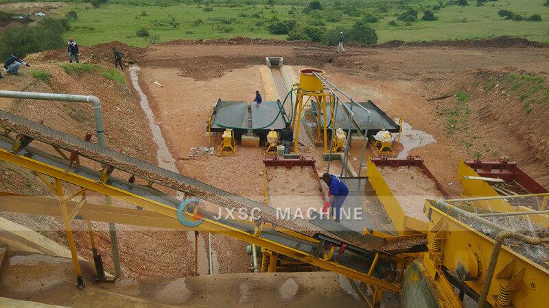 Uganda 100TPH Coltan Mining process line