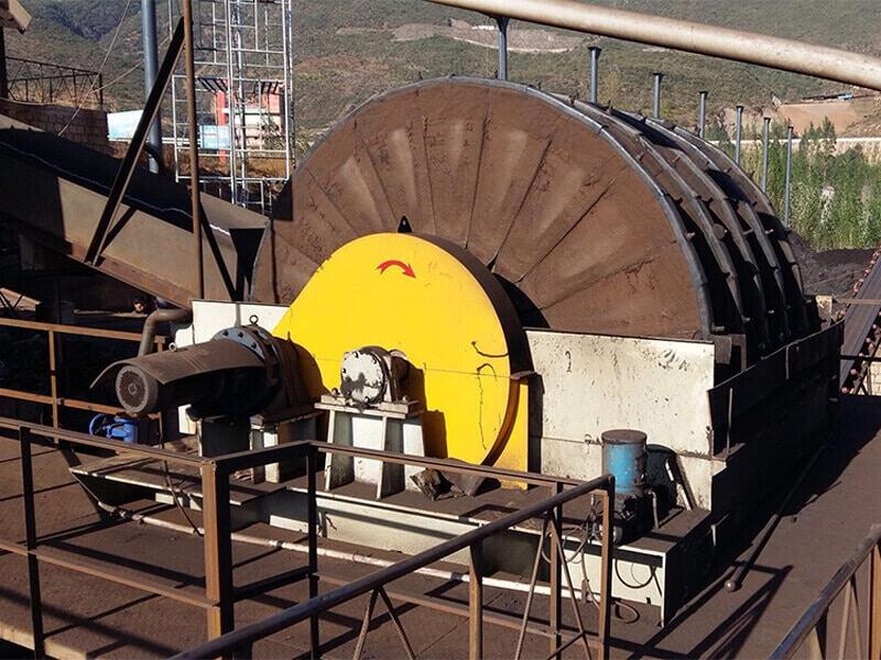 disc filter machine