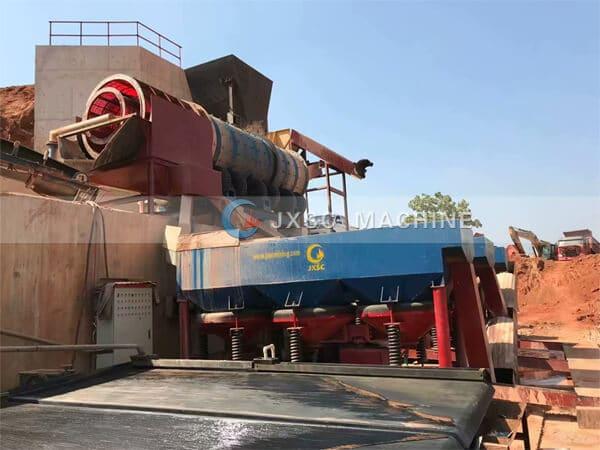 Nigeria coltan processing plant