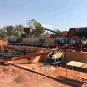 coltan processing plant