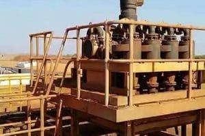 manganese mineral process plant
