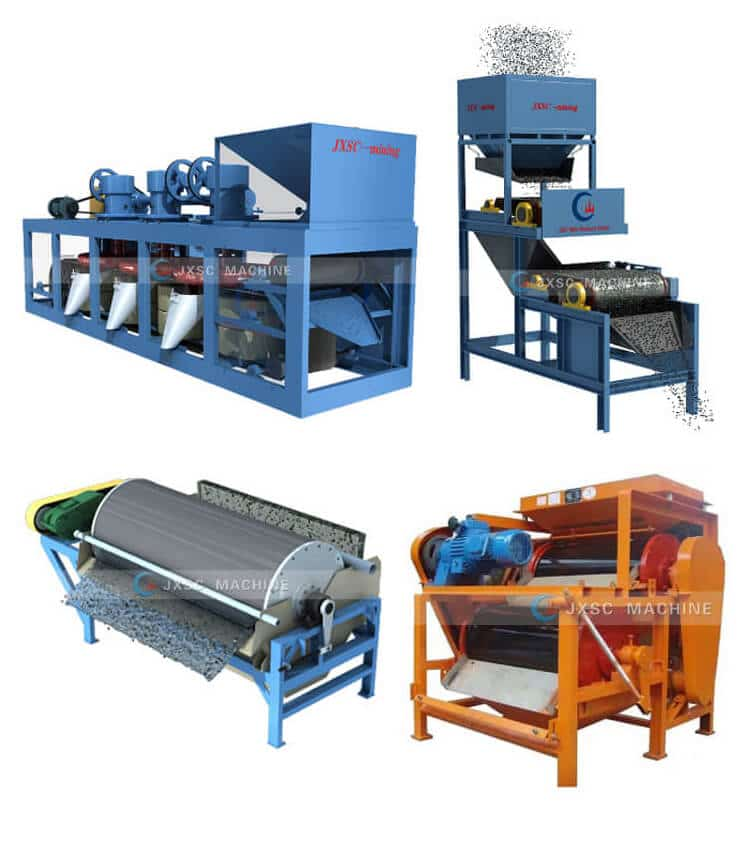 types of magnetic separator