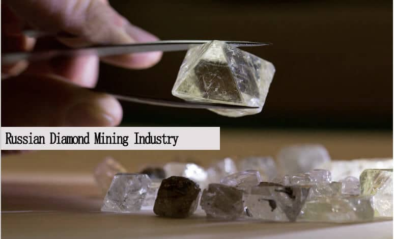 Russian diamond mining industry