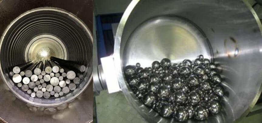 grinding mill medium
