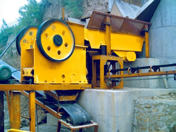 jaw rock crusher