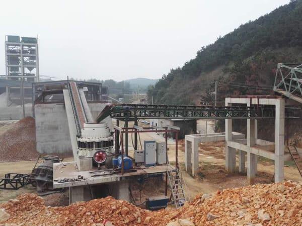 multi cylinder hydraulic cone crusher 220tph plant