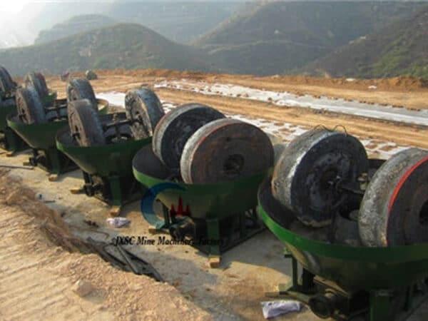 pan grinding mills