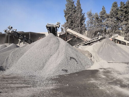 jxsc 60 tph limestone crushing plant
