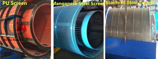 three kinds of screens
