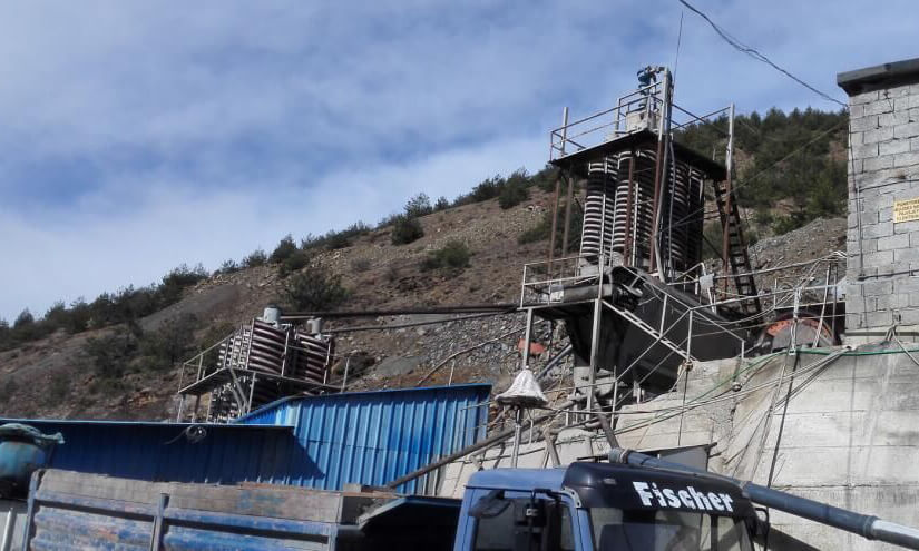 tin washing plant in Peru